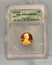 1979 S Lincoln Memorial Cent PR70