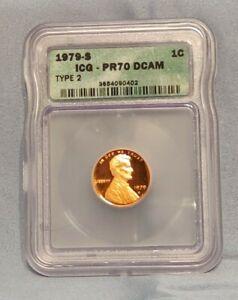 1979 S Lincoln Memorial Cent PR70 Type 2 DCAM