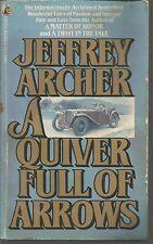 A Quiver Full of Arrows Jeffrey Archer PB 1983