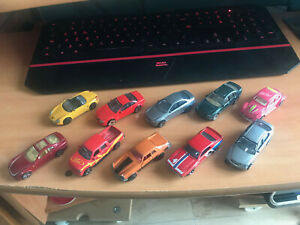 Lote coches 1/87 aprox Lot cars 1:87 Dañados Damaged