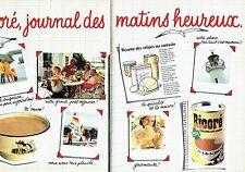 PUBLICITE ADVERTISING 027  1982  la chicorée soluble Ricoré ( 2 pages)  Bretagne