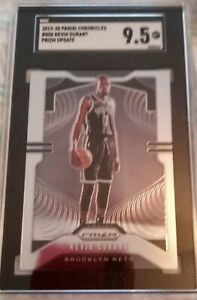 2019 Panini Chronicles Prizm Update Kevin Durant #508 SGC 9.5 MINT+