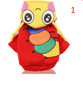 Cartoon Dogs Clothes For Spitz Pomeranian Clothes Funny Small Dogs Hoodies