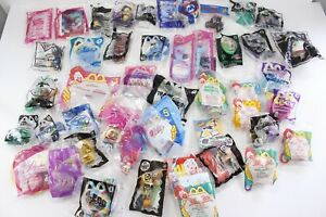 Approximately (45) McDonalds Happy Meal Toys Most Sealed Mario Pooh Furby