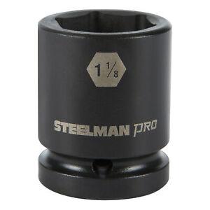 Steelman Pro 3/4 in. Drive 1-1/8 in. 6 Point Impact Socket 79240