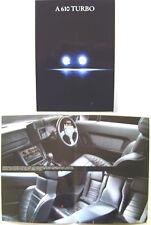 Renault Alpine A610 Turbo 1992-95 Original UK Brochure