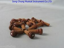 Violin part,30pcs of great jujube violin endpins,fine workmanship