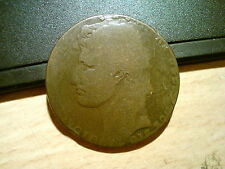 1810 ITALY STATE NAPLES & SICILY 3 GRANA COIN. RARE!, VERY LARGE