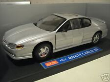 CHEVROLET  MONTE CARLO SS argent 1/18 SUN STAR 1980 voiture miniature collection