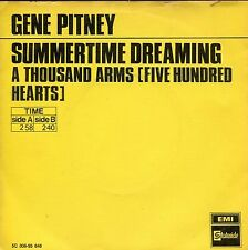 7inch GENE PITNEY summertime dreaming HOLLAND +PS YELLOW COVER