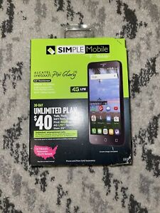 🔥Alcatel Onetouch Pixi Glory A621BL LTE, 4.46GB, Prepaid Smartphone - Black