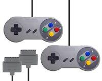 Zwei / 2 Controller * Joypad * Kontroller * Pad (NEU) für Super Nintendo / SNES