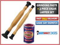 Bossil Valve Grinding Paste Tin Fine & Coarse Grade + 2 Lapping Sticks Tool NEW