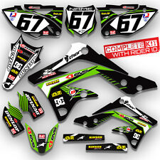 2012 KXF 450 GRAPHIC KIT KAWASAKI KX450F RIDGELINE DIRT BIKE MXiSLAND DECALS