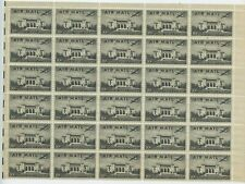 1947 AIRMAIL PAN AM UNION, HALF SHEET+ MINT