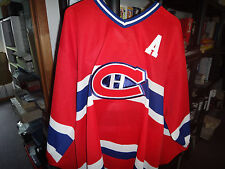 Tom Johnson Montreal Canadiens signed CCM Hockey jersey  # 10 COA + cards
