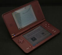 Nintendo DSi XL console in brown - good working condition