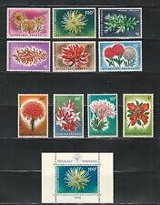 Rwanda: 1966 Scott N° 151-160, S.S. N° 160a mint never hinged. RW09