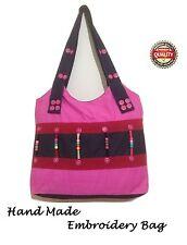Ladies Handbag Designer Look vintage fashionable Shoulder Large embroidery bag