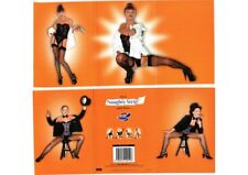 "PIN UP EROTIQUE RISQUE ""NAUGHTY STRIP CARD"" FEMMES 19 MODERN CP"