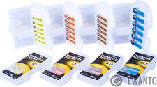 Hörgerätebatterien Größe 312 braun,10 gelb,13 orange, 675 blau Duracell Activair