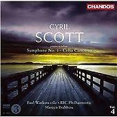 Cyril Scott: Symphony No. 1; Cello Concerto, Cyril Scott, Audio CD, New, FREE &