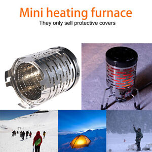 Lightweight Mini Camping Stove Cover Tent Heater Heating Warmer for Outdoor Tent