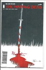 WALKING DEAD # 145 (SIGNED STEFANO GAUDIANO, Dynamic Forces 53/550) NM NEW