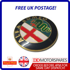 NEW ALFA ROMEO BONNET LOGO BADGE EMBLEM STICKER GTV & SPIDER FRONT GRILLE