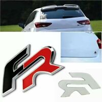 REPLACEMENT FR BADGE BLACK RED SEAT RACING CUPRA IBIZA LEON TDI
