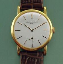 Vintage 50's 18k Yellow Gold Vacheron Constantin cal. 1001 Ref 4667 Thin Watch
