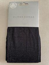 Oliver Bonas All Over Shimmer Collants argent M-L