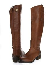 Womens SAM EDELMAN PENNY2 218589 brown leather tall boots sz. 6 M Wide Calf NEW!