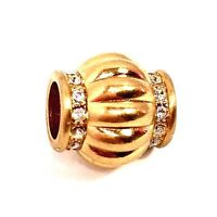 Authentic Brighton Glamour Bead, Brushed Gold,  J95761, New