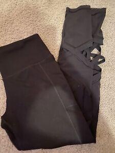 victoria secret sport leggings medium detailed bottom