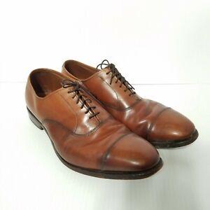 Allen Edmonds Park Avenue Men's Size 11 D 5635 Walnut Brown Oxford Cap Toe