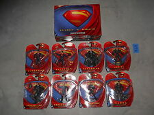 K10_1 DC Universe Lot MOVIE MASTERS COMPLETE MAN OF STEEL SET + SUPERMAN VS ZOD