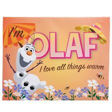 NEW Artissimo Disney Frozen Olaf Wall Art Canvas Painting Kids Room Decor 11x14