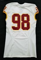 #98 No Name of Washington Redskins NFL Locker Room Game Issued Jersey