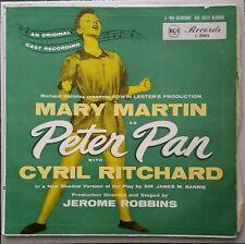Original Cast Recording MARY MARTIN as PETER PAN RCA Record LP Album Soundtrack
