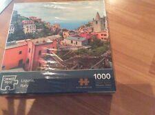1000 Piece Jigsaw Puzzle New And Sealed Liquria/ Italy Corner Piece