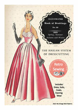 The Haslam System of Dresscutting No. 30 1950's  - Copy