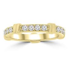 Wedding Band Ring 14 kt Yellow Gold 0.65 ct Ladies Round Cut Diamond Eternity