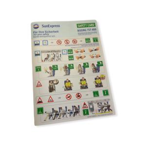SunExpress Safety Card B738 12/2019