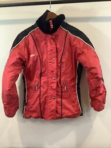 Vintage Yamaha Snowmobile Jacket Coat Small Retro Winter Sport Red Acc1130025