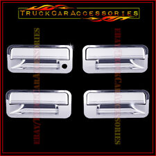 For CHEVY S10 + S10 Blazer 1992 1993 1994 1995 Chrome 4 Door Handle Covers w/o P