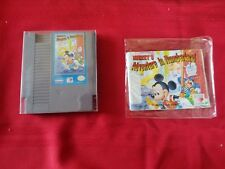 Mickey's Adventures in Numberland with MANUAL nes 1994