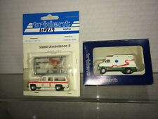 2 Pieces Trident Emergency Ambulance   Vehicles Discontinued? Free shipping