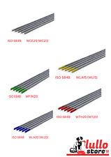 Elettrodi tungsteno vari colori e diametri saldatura TIG puro toriato ceriato la