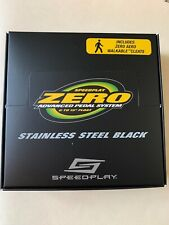 Speedplay Zero Stainless Black with Cleats (NEW)